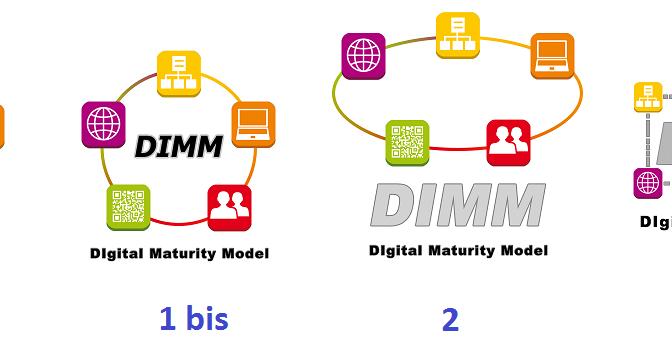 Vote pour le logo de la méthode de maturité digitale DIMM